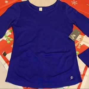 NWT Energy Zone Blue Top